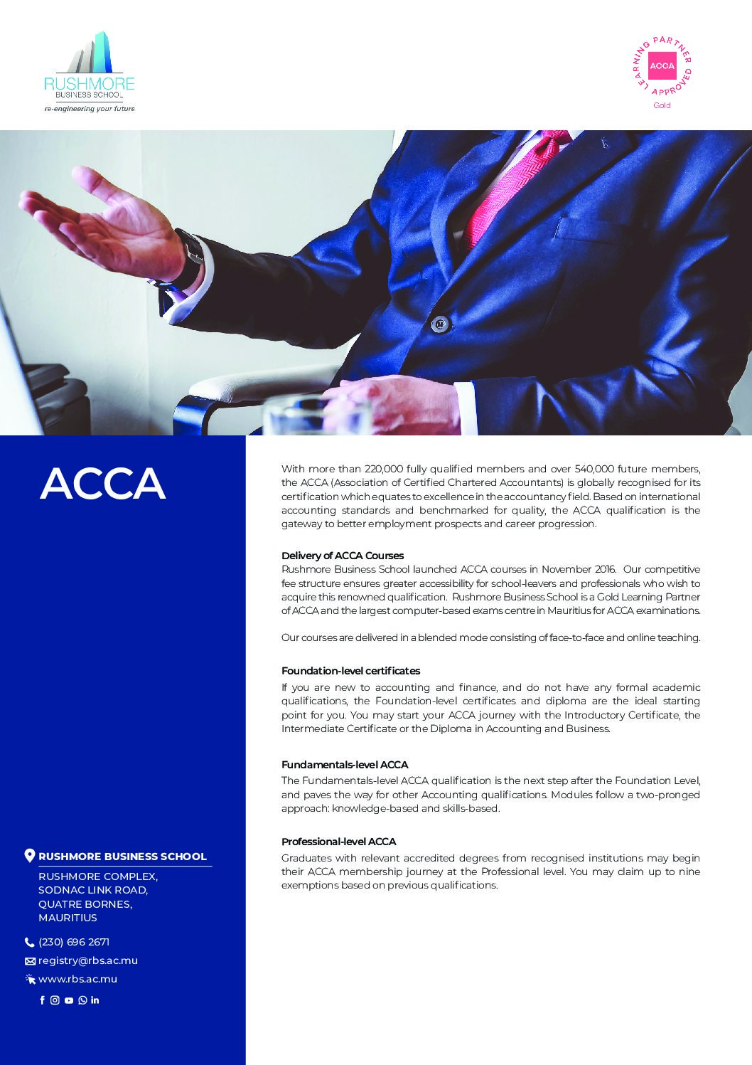 ACCA FLYER – 24 JULY